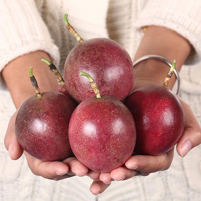 广西百香果新鲜水果西番莲水果5斤3斤2斤装百香果批发 酸甜多汁_6