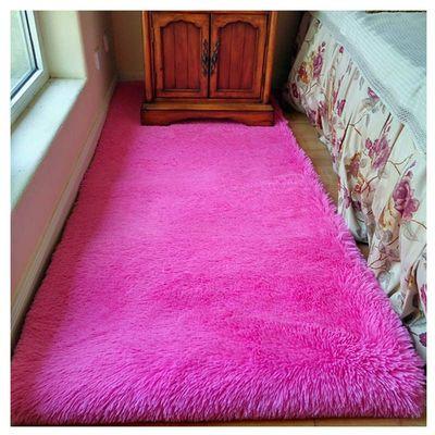 边地毯客厅茶几地毯飘窗垫可定做轶凡可水洗加厚长毛款地毯卧室床
