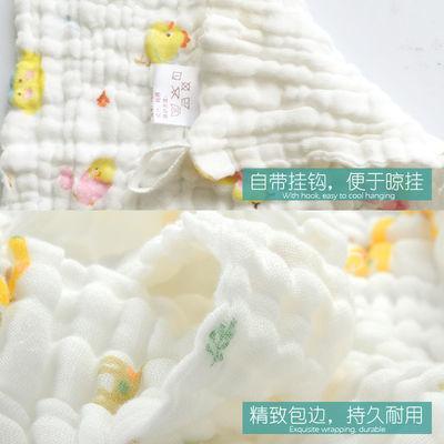 洗脸小方巾新生儿洗澡喂奶儿童手绢帕婴儿毛巾宝宝口水巾纯棉纱布