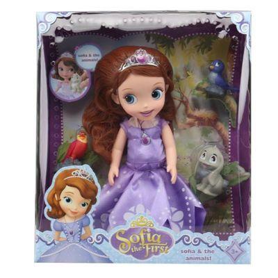 索菲亚沙龙洋娃娃乐佩长发公主苏菲亚公主玩偶公仔女孩玩具白雪