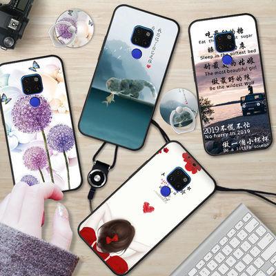 华为nova3/3i手机壳3e硅胶p20lite套nova2plus防摔nova青春版软女