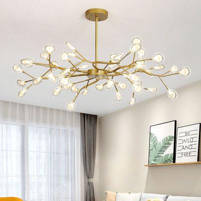 北欧风格网红萤火虫吊灯后现代简约艺术创意个性客厅卧室餐厅灯具