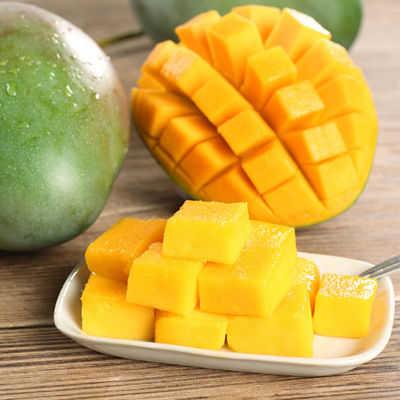 买5斤送5斤四川攀枝花芒果水果芒果3/5/10斤装应季水果当季新鲜水