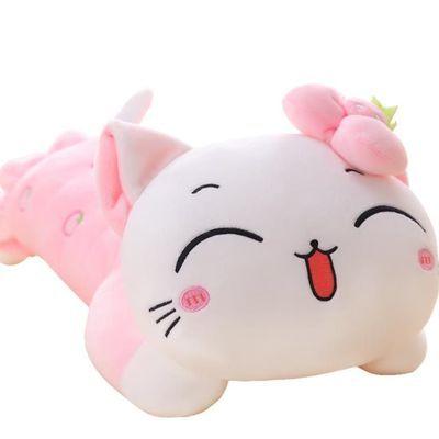 爆款可爱小猫咪公仔毛绒玩具女生睡觉儿童枕抱枕头布娃娃床上抱枕主图
