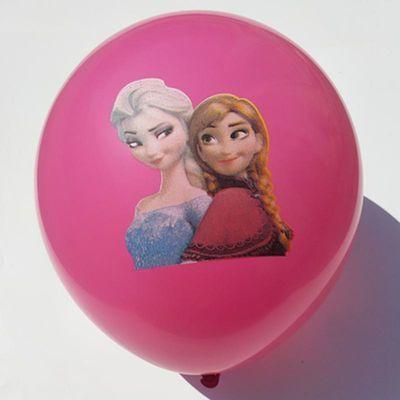 色玩具地推气球100个装批发包邮大号加厚儿童可爱多款混搭卡通彩
