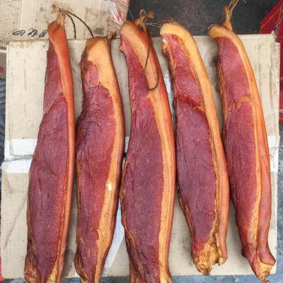 烟熏腊肉正宗四川特产五花土猪后腿腊肉500g农家猪肉柴火烟熏咸肉