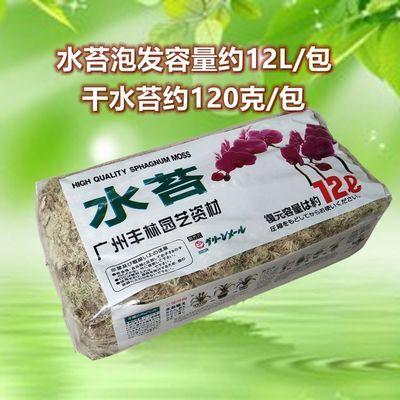 栽干苔藓多肉兰花种植营养土肥料干水苔蝴蝶兰专用栽培基质花卉盆