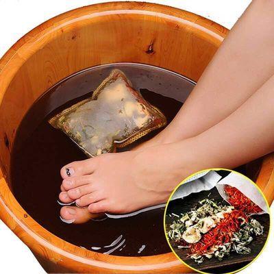 艾叶草泡脚药包去湿气红花老姜祛湿驱寒助眠脚气脚臭养生足浴包粉