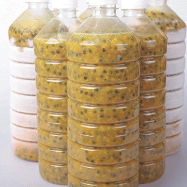 广西新鲜百香果原浆果酱百香果肉 瓶装 新鲜果酱冷冻百香果汁8斤_4