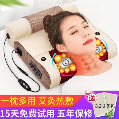 颈椎按摩器颈部腰部肩背部多功能电动按摩枕头全身家用腰椎按摩仪