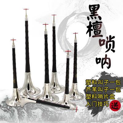 新宝(XinBao)降B调唢呐乌木黑檀木唢呐多调唢呐乐器全套初学