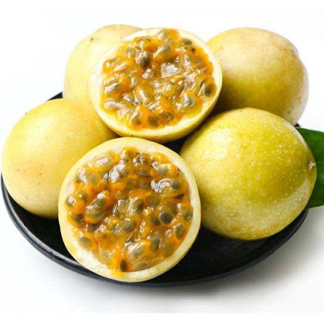 【买一送一】广西黄金百香果3斤装 热带水果新鲜西番莲鸡蛋果包邮_4