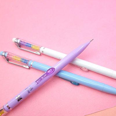 不断芯0.7mm活动自动铅笔天卓01751女可爱小清新0.5中小学生儿童