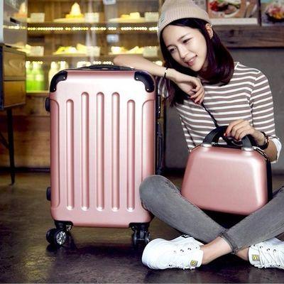 行李箱女旅行箱拉杆箱皮箱密码箱男女学生书包20小24寸男18寸28寸