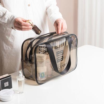 透明化妆包女大容量旅行便携防水ins网红化妆品收纳袋小号洗漱包