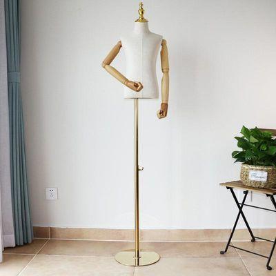 儿童模特带手臂小模特道具橱窗全身小孩模特衣架2468岁展示架儿童