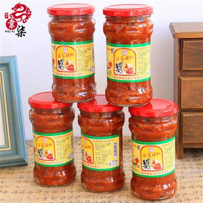 广西平南大安和味蒜蓉辣椒酱特产下饭菜自制农家蒜香辣椒酱280g
