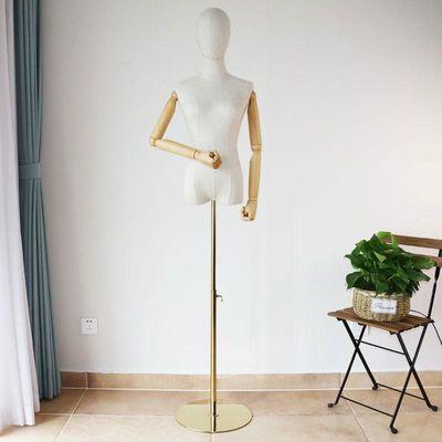 女装模特道具带手臂橱窗婚纱展示架带头全身人台模特道具女半身架