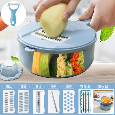 多功能切菜器土豆丝切丝神器刨丝器切片器厨房用品家用刮丝擦丝器