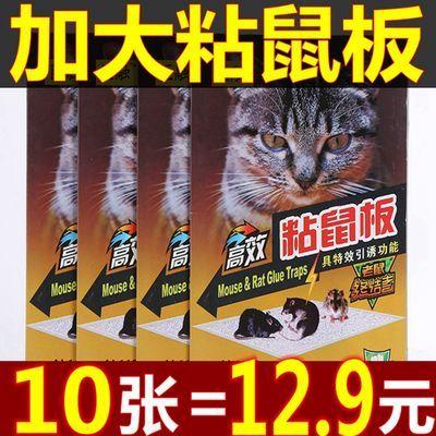 老鼠粘老鼠贴粘鼠板老鼠笼老鼠板超强力老鼠器夹药抓捉大老鼠笼胶