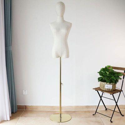 女服装店模特道具女半身橱窗全身衣架人台展示架婚纱模特人体衣架