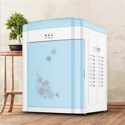 新款带门台式饮水机冷热家用节能特价冰温热小型制冷迷你型开水机