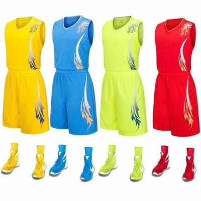 经典爆款龙纹篮球服男套装球衣定制男女儿童小孩篮球服球衣同款