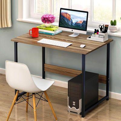 爆款电脑台式桌家用电脑桌现代办公桌学习桌子简约书桌经济型简易