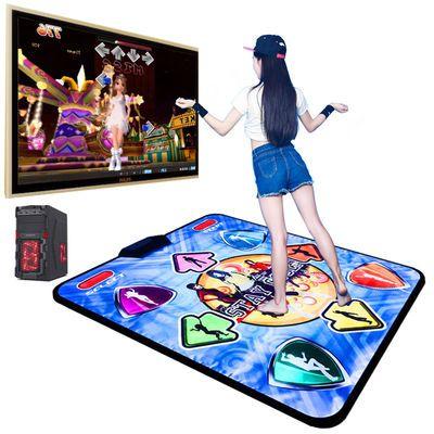 爆款康丽跳舞毯电脑单人有线USB接口健身瑜伽游戏家用跳舞机