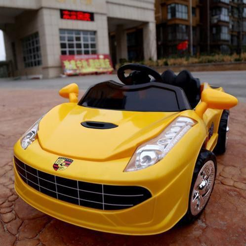 婴儿童电动车四轮遥控带摇摆汽车1234岁小孩宝玩具童车充电可坐人