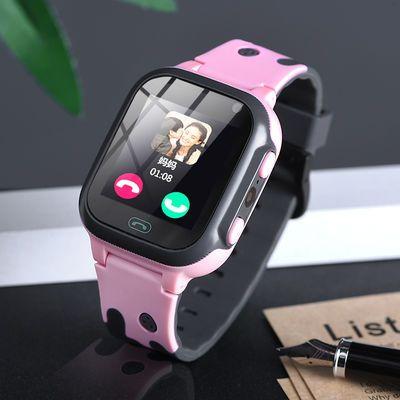 儿童电话手表男女孩学生智能小睿天才电话手表带定位拍照防水触屏
