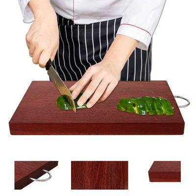 铁木菜板实木砧板整木家用切菜板正宗越南长方形厨房案板加厚面板