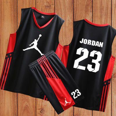 新款新款篮球服套装男女定制学生队服比赛印字男士运动服儿童球衣