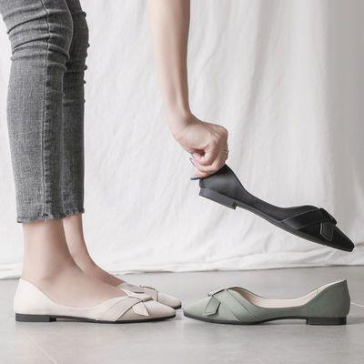 豆豆鞋女夏