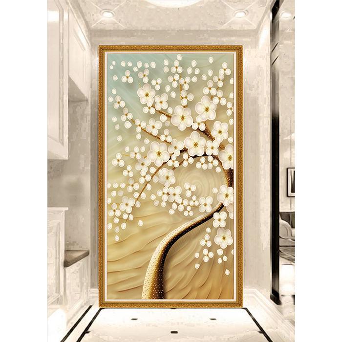 孔雀花瓶防水墙贴纸装饰画墙贴画墙壁纸墙纸