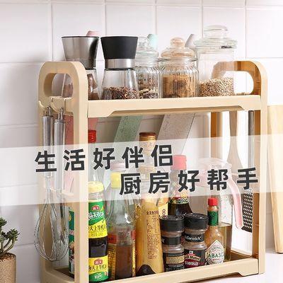 【爆款】厨房置物架调料架厨房用品用具加大加高储物架简易收纳架
