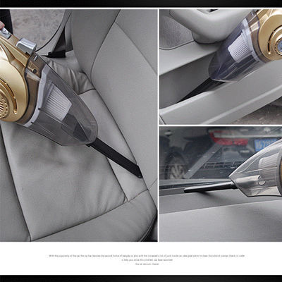 爆款车载吸尘器汽车打气泵充气12V车用车家两用干湿大功率强力四