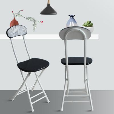 折叠椅子家用椅餐桌凳靠背椅便携户外凳子宿舍椅简约电脑椅折叠凳