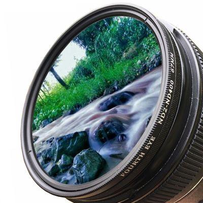 新款热卖一体式可调减光镜 可调ND2-400中灰密度镜 单反佳能尼康