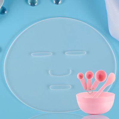 【爆款】(硅胶面膜模具) 食品级硅胶面膜托盘海藻粉面膜水果面膜