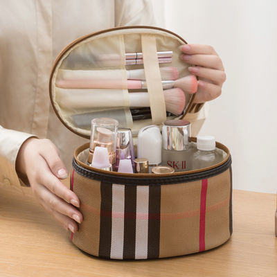 防水化妆包网红大容量便携化妆品收纳包多功能简约旅行收纳洗漱包