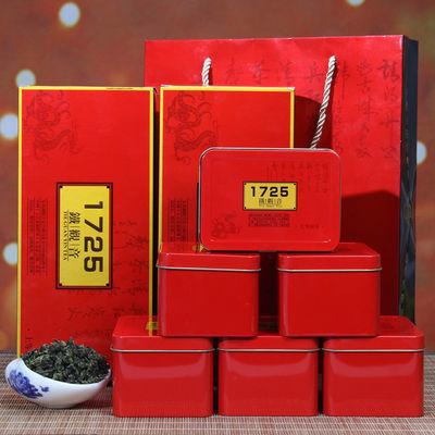 新茶铁观音特级浓香型1725安溪乌龙茶500g正品兰花香散装礼盒装