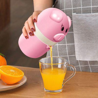 手动榨汁机家用迷你学生果汁机便携式压汁器小型9.9包邮榨汁杯