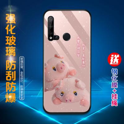 华为nova5i/5/5pro/5ipro手机壳女玻璃防摔硅胶网红可爱新款男潮