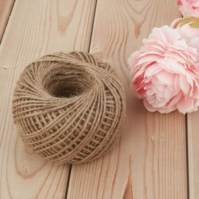 儿童手工麻绳米彩色编织材料捆绑绳家用照片墙吊牌装饰绳子