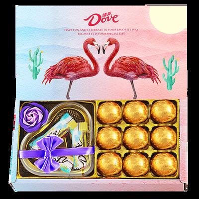七夕情人節禮物德芙巧克力禮盒浪漫表白禮物送女朋友創意禮品
