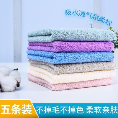 儿童洗脸巾比纯棉柔软亲肤吸水婴儿小毛巾擦手巾批发不掉毛不掉色