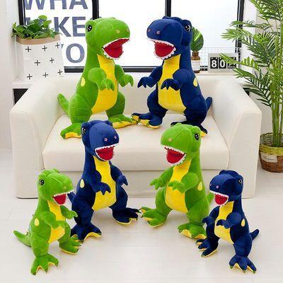 2019热销霸王龙公仔小恐龙玩具毛绒可爱玩偶男孩抱枕娃娃儿童玩具主图