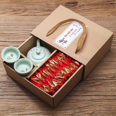 铁观音茶叶150g新茶上市产地直销优惠热卖送茶具礼盒装红茶100g