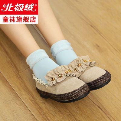 儿童雪地袜秋冬季加绒加厚保暖地板袜亲子男童女童中筒袜宝宝袜子